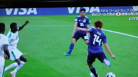 6/24(日) 日本 vs セネガル 2018W杯ロシア大会_a0059812_19054854.jpg