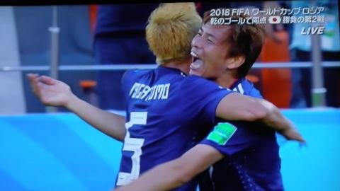 6/24(日) 日本 vs セネガル 2018W杯ロシア大会_a0059812_19054930.jpg