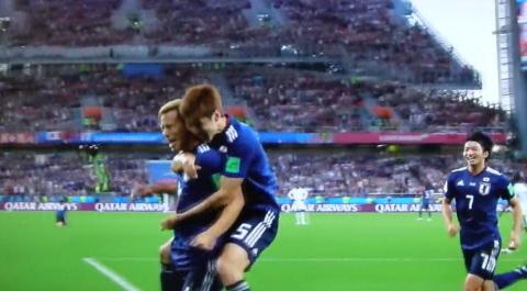 6/24(日) 日本 vs セネガル 2018W杯ロシア大会_a0059812_19205576.jpg