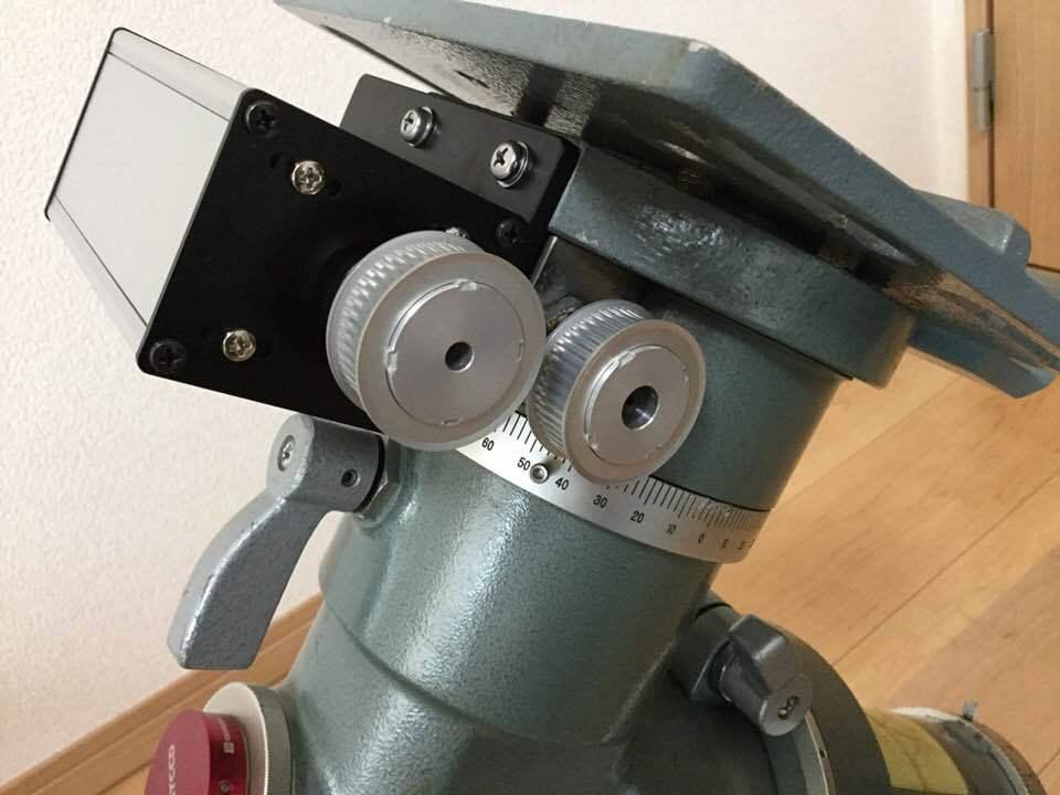 タカハシNJP/JP赤道儀の改造とその後_c0061727_16161454.jpg