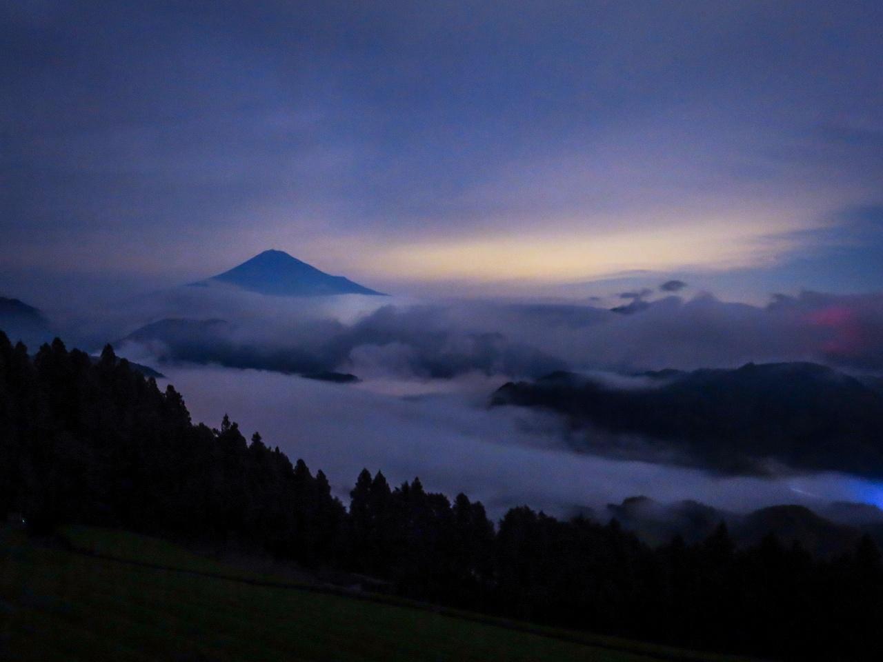 2018.6.24,25夜の富士山と雲海(吉原)_e0321032_15291372.jpg