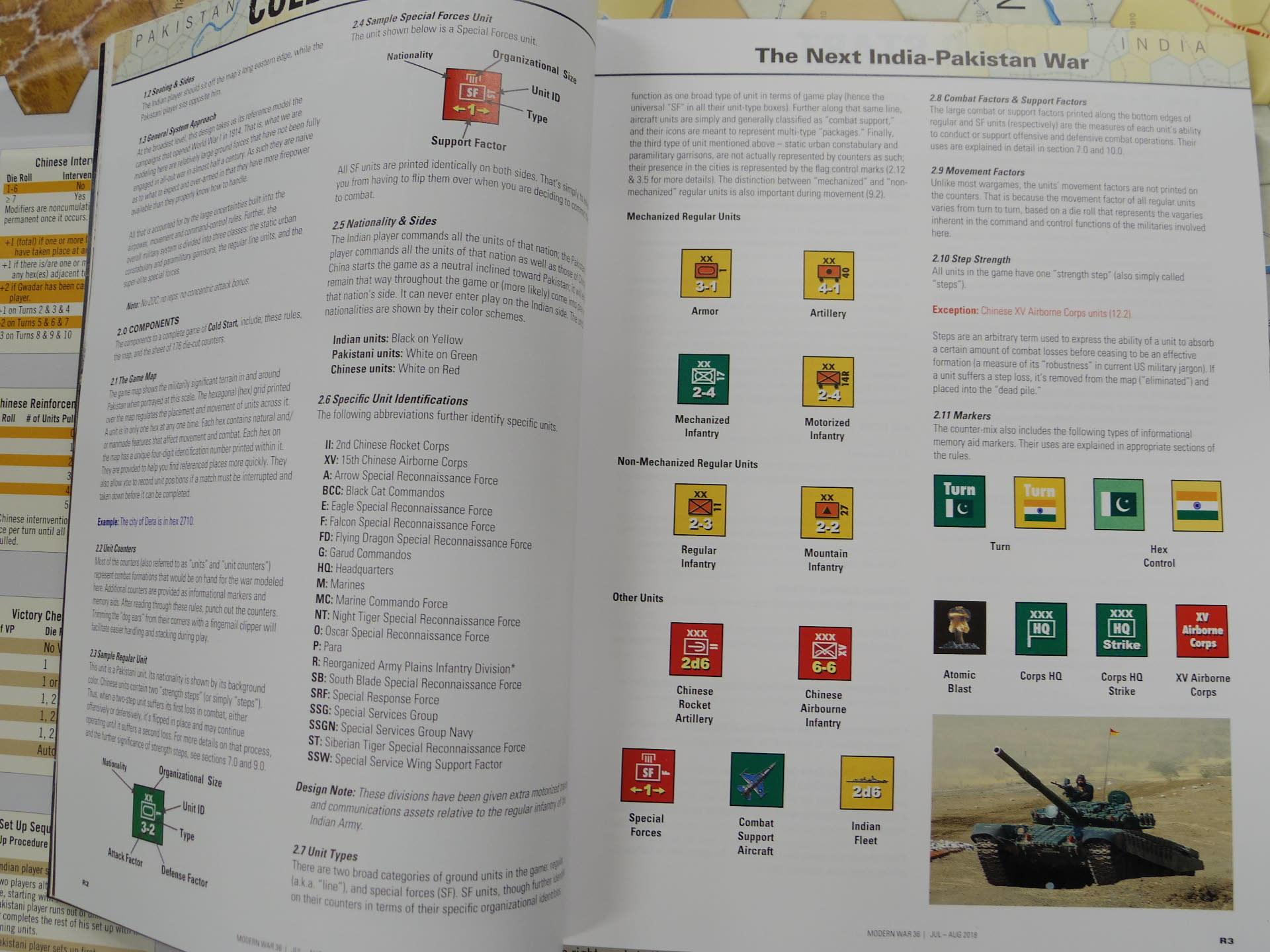 Modern War誌#36 Cold Start: The Next India-Pakistan War... 2018.06.17(日)YSGA第348回定例会に持ち寄られ_b0173672_23113423.jpg