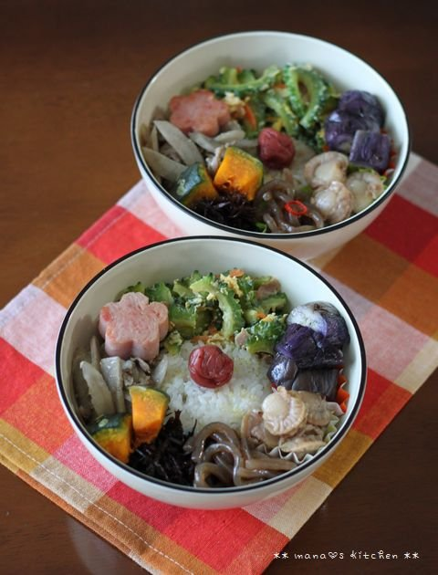 惣菜ボール ✿ チキンカレー(๑¯﹃¯๑)♪_c0139375_1312288.jpg