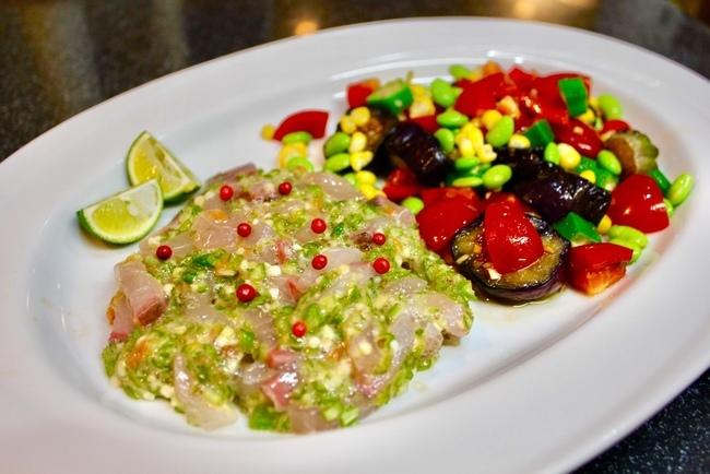 最近凝ってる常備菜「揚げなす」で夏野菜のサラダやら、麻婆茄子やら_a0223786_14401685.jpg