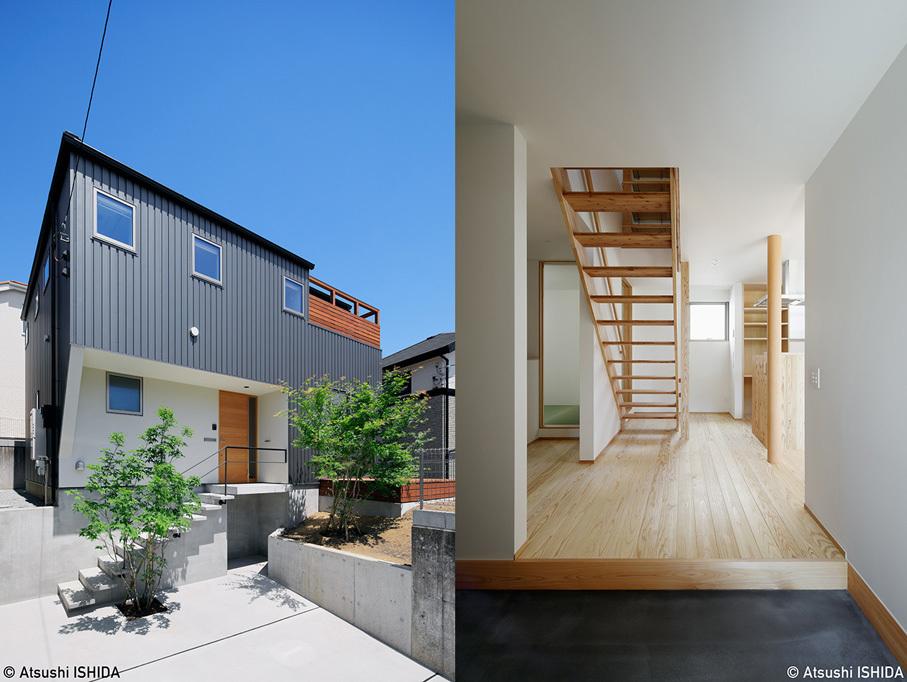 「鶴川の家」竣工写真・外観_b0061387_13443583.jpg