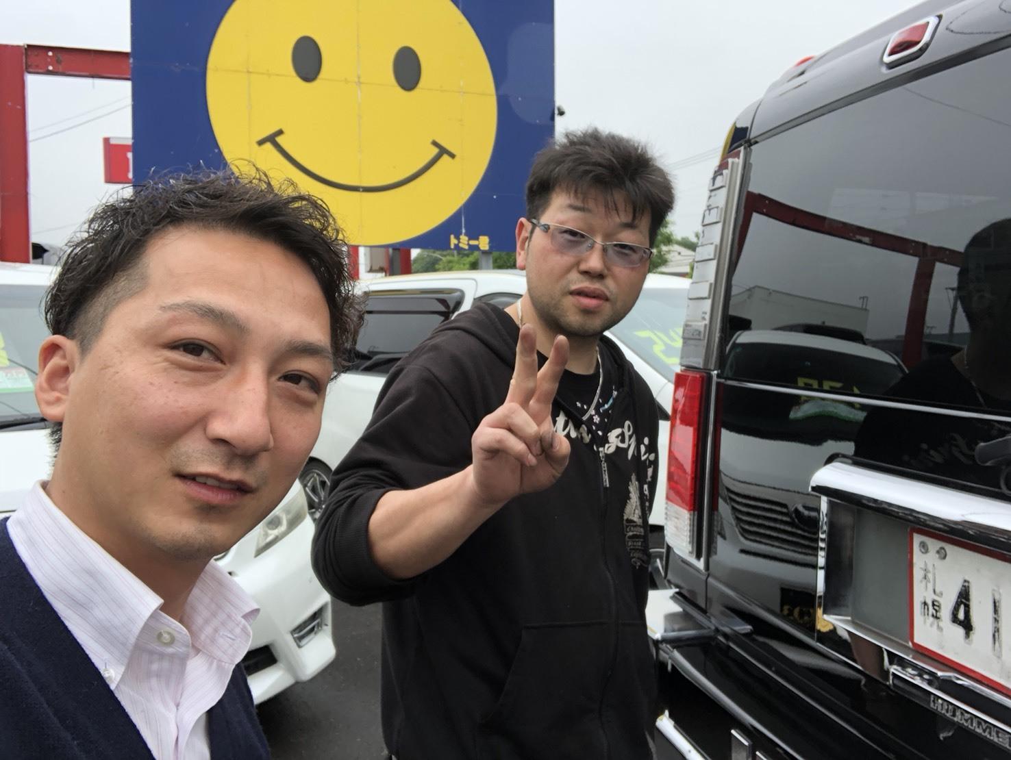 6月27日(水)本店ブログ♪ご成約ハイエースO様(゜゜)♡ランクル ハマーアルファード _b0127002_17555410.jpg