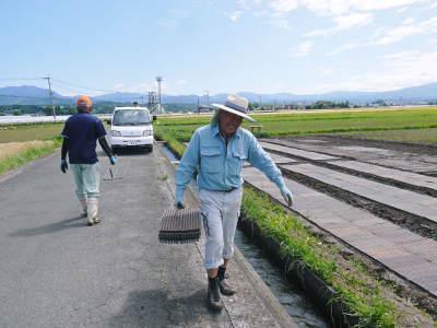 健康農園さんの無農薬栽培『雑穀米』『発芽玄米』大好評販売中!平成30年度の田植えの様子を現地取材!_a0254656_17251693.jpg