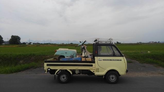 本日の入庫車両 富士重工 ラビットS301_a0160770_07345779.jpg