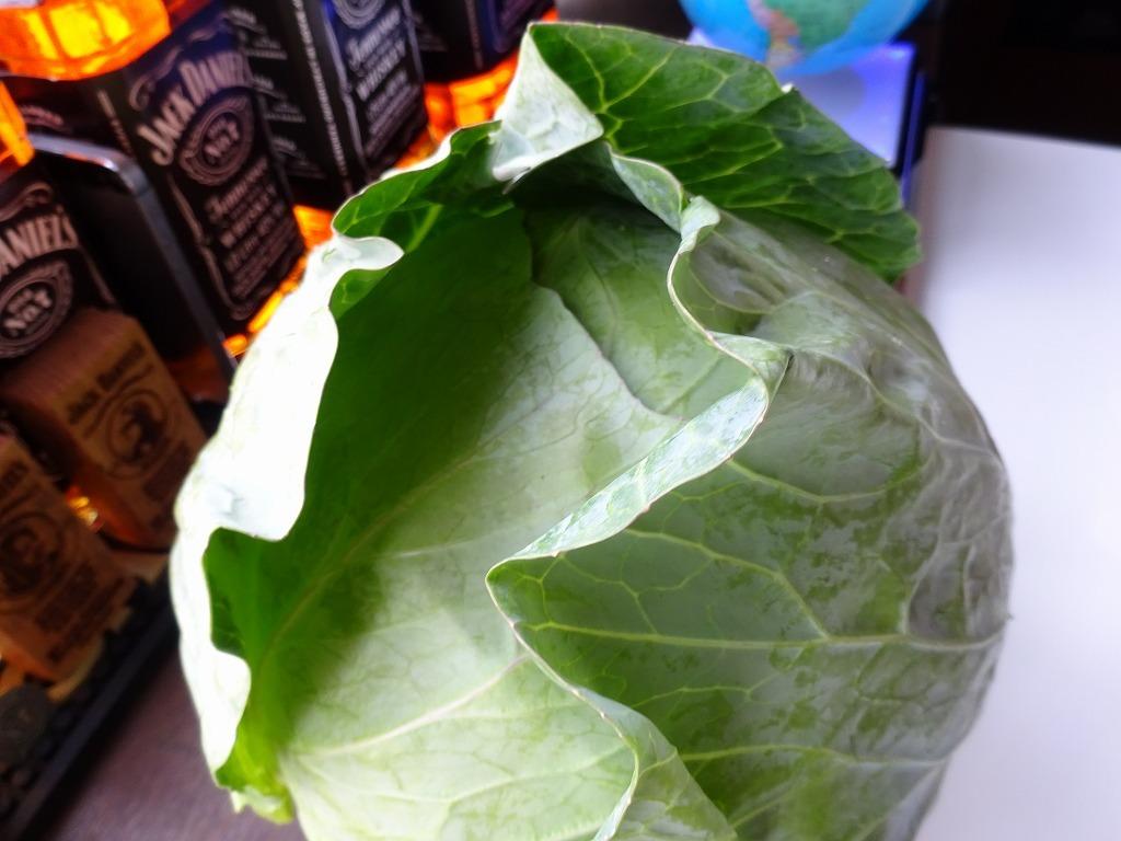 実家からの野菜2018 第二段!レタス、玉葱、サクランボも!_d0061678_13104325.jpg