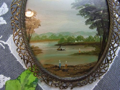 素敵な真鍮フレームのガラス絵_d0127182_16471530.jpg