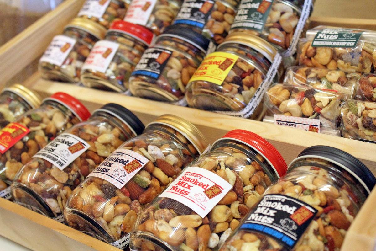 SMOKED MIX NUTS スモークドミックスナッツ 通販 / マンチーフーズ_c0222907_12310635.jpg