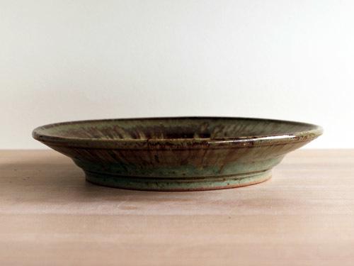 大沼道行さんの緑釉とわら灰釉のうつわ。_a0026127_13461861.jpg