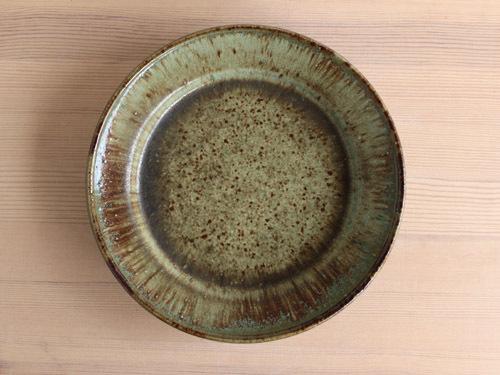大沼道行さんの緑釉とわら灰釉のうつわ。_a0026127_13462828.jpg