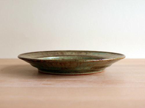 大沼道行さんの緑釉とわら灰釉のうつわ。_a0026127_13484578.jpg