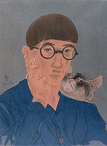 藤田嗣治のフレスコ画に会いに行く前に…_a0136671_20075607.jpg