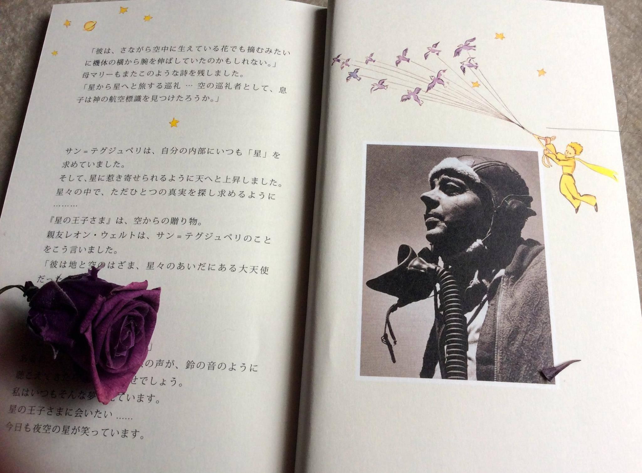 Happy birthday!サン・テクジュベリ ♡_c0203401_14231877.jpg
