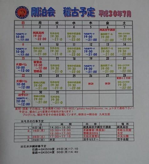 7月の稽古予定(正統泊手セミナーが👍)_a0130305_12095942.jpg