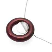 Jewel of Forest ~森の宝石~ 漆のアクセサリー ペンダント 惑星×アクリル ボルドー色 坂本これくしょんのプレミアムシリーズ 漆 アクリルのコンビネーションから生まれたデザインジュエリー Wearable URUSHI Accessories necklace pendant Planet & Acrylic Bordeaux Color 自然の中から編み出されてきた日本の伝統文化の中でも漆は森が生みだした宝物、球体は独自の技法で中心より上部に穴を開け金色粉を施し、魚眼レンズ効果で角度によりとても不思議なパワーを感じます。 #漆のアクセサリー #漆のペンダント #ペンダント #惑星 #アクリル #朱色 #森の宝石 #ネックレス #デザインジュエリー #プレミアムシリーズ #新感覚アクセサリー #会津若松市 #JewelOfForest #Necklace #DesignJewelry #BordeauxColor #PremiumSeries #Accessories