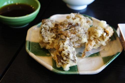 【ながら長生庵 お蕎麦と舞茸の天ぷら】_f0215714_17034969.jpg