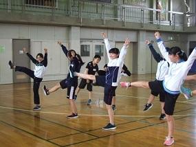 文化庁・芸術公演のワークショップ参加・6年_d0382316_14315865.jpg