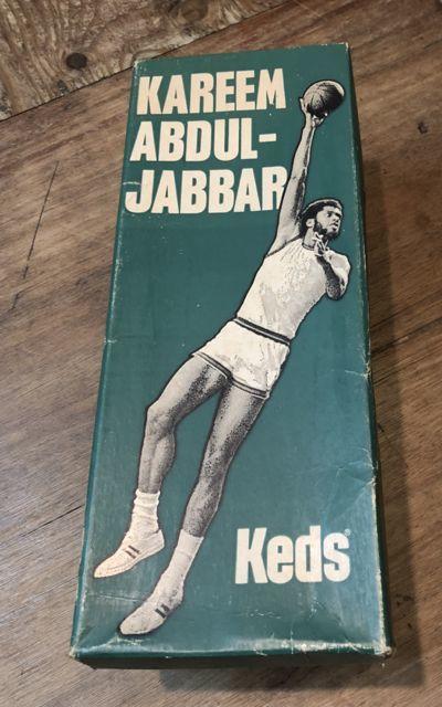 6月30日(土)入荷!60s レア デッドストック KEDS Abdul Jabbar ジャバーモデル キャンバス シューズ!_c0144020_14373926.jpg