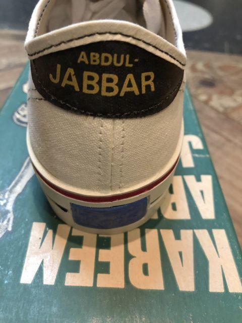 6月30日(土)入荷!60s レア デッドストック KEDS Abdul Jabbar ジャバーモデル キャンバス シューズ!_c0144020_14380437.jpg