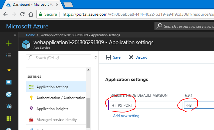 ASP.NET Core 2.1 の UseHttpsRedirection が Azure Web Apps 上では効かない?_d0079457_18503398.png