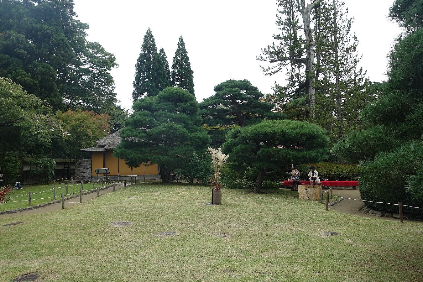 鶴ヶ城公園 茶室「麟閣」_c0112559_08445088.jpg