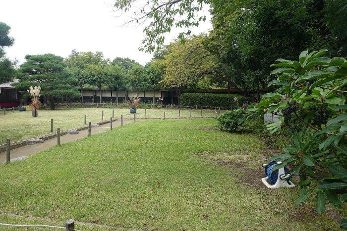 鶴ヶ城公園 茶室「麟閣」_c0112559_08460064.jpg
