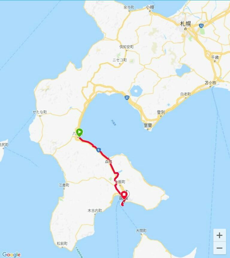 68 日目【八雲町−函館】北海道最後の地、函館へ_e0201281_06063428.jpg