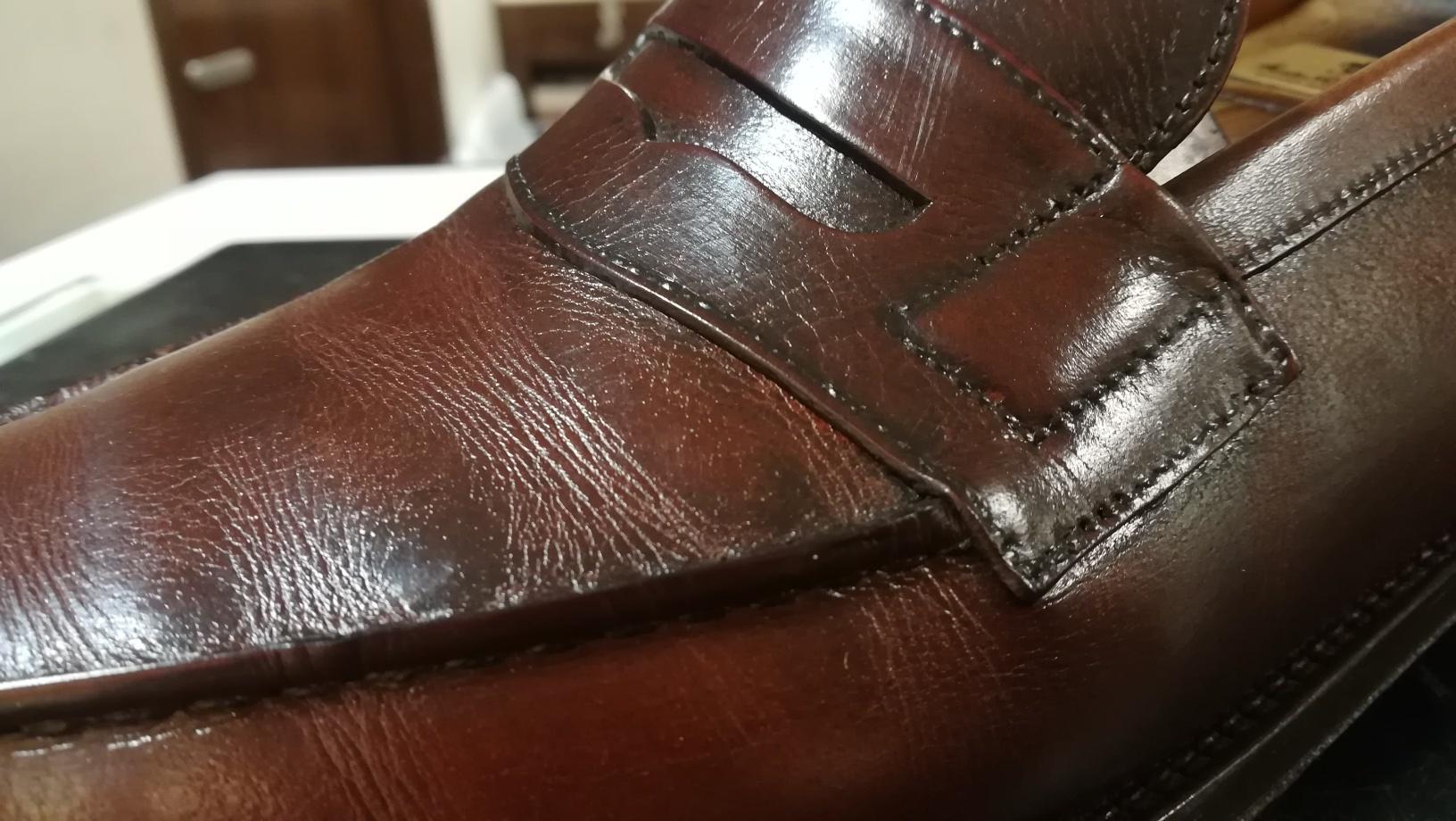 重なった靴クリームをリフレッシュ②_d0166598_11532894.jpg
