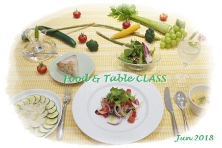 夏野菜で初夏のカジュアルランチ ~フード&テーブルクラス_d0217944_01343899.jpg