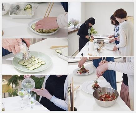 夏野菜で初夏のカジュアルランチ ~フード&テーブルクラス_d0217944_01543567.jpg