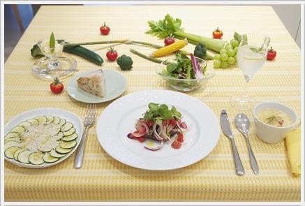 夏野菜で初夏のカジュアルランチ ~フード&テーブルクラス_d0217944_02045141.jpg