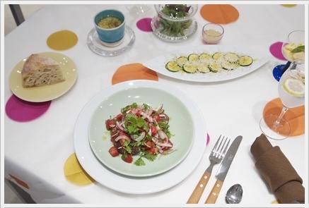 夏野菜で初夏のカジュアルランチ ~フード&テーブルクラス_d0217944_02161238.jpg