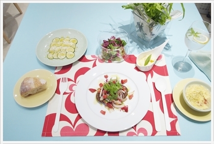 夏野菜で初夏のカジュアルランチ ~フード&テーブルクラス_d0217944_02563375.jpg