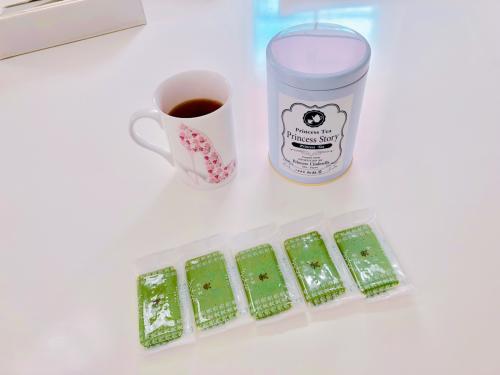 新発売のLoquat tea_e0292546_05413467.jpg