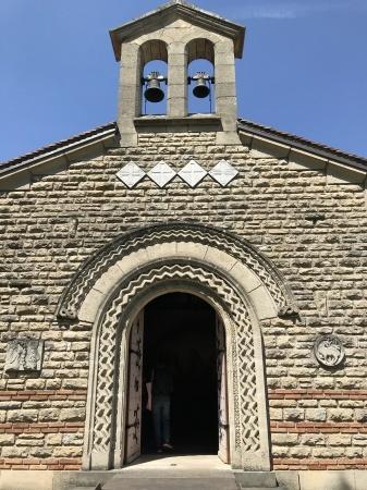 最後のフジタの作品、フジタ礼拝堂の美しさ_a0136671_00182523.jpg