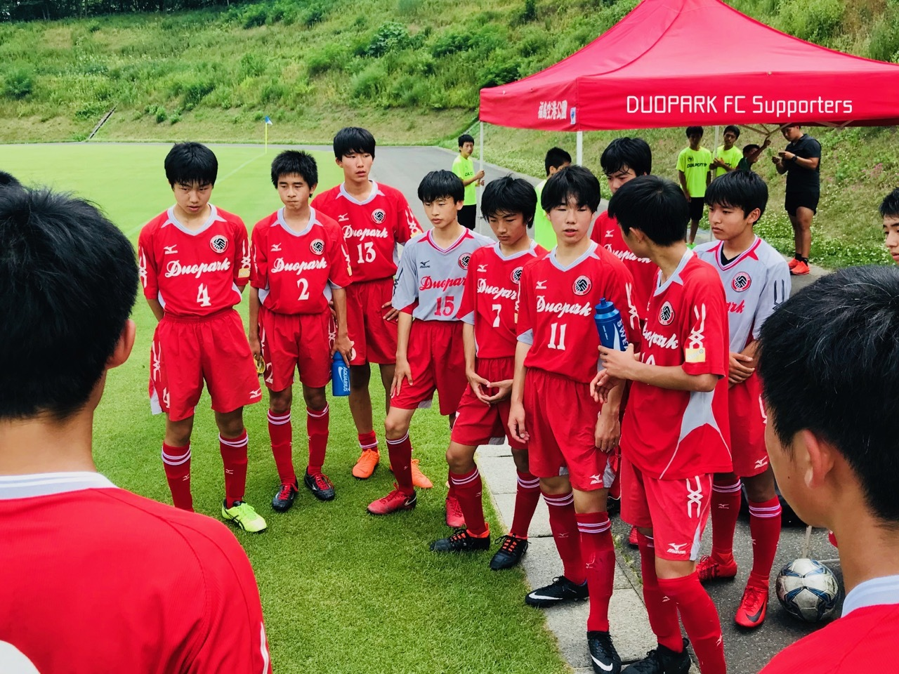 【CLUB YOUTH U-15】vs FC宮城 June 30, 2018_c0365198_20302931.jpg