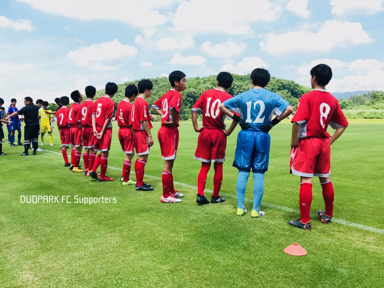 【CLUB YOUTH U-15】vs FC宮城 June 30, 2018_c0365198_20302947.jpg