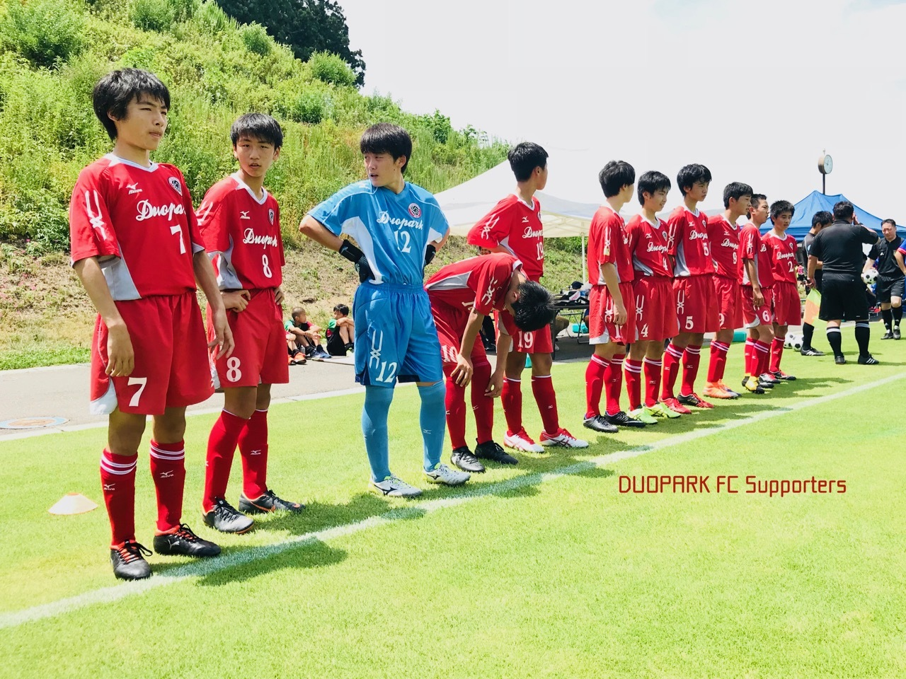 【CLUB YOUTH U-15】vs FC宮城 June 30, 2018_c0365198_20303043.jpg