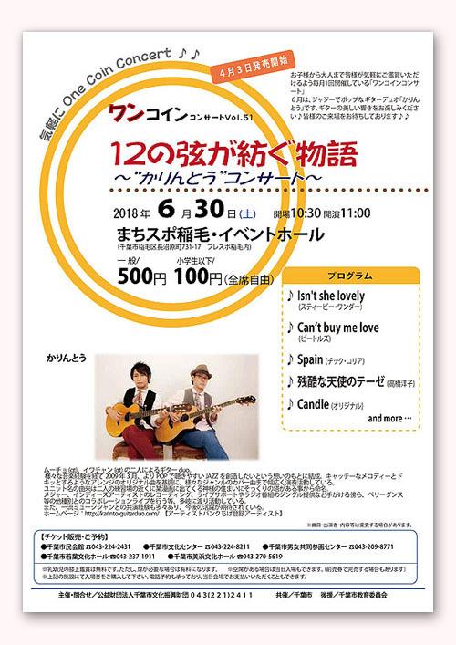 ギターの「幅」を感じたワンコイン・コンサート_c0137404_09492924.jpg