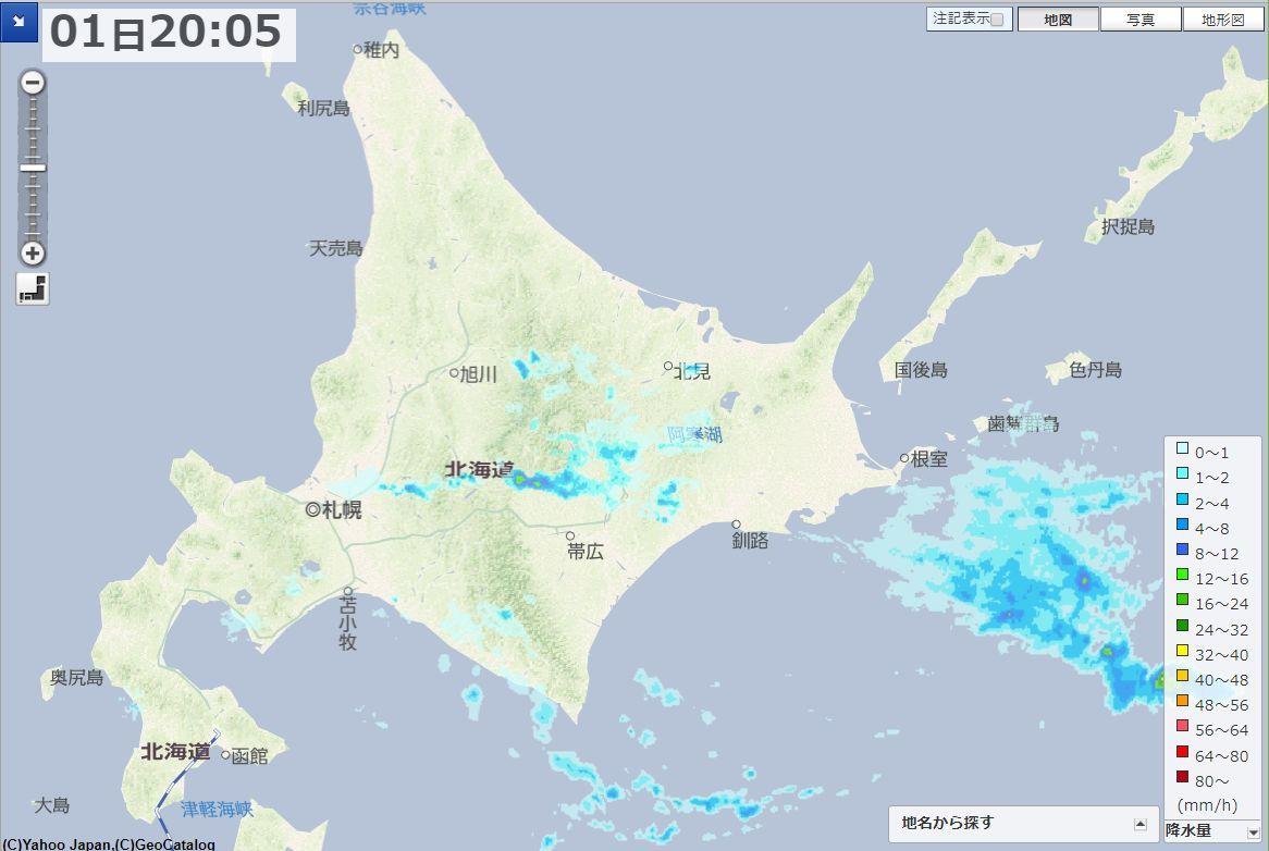 記録的な雨の6月が終わり記録的な雨の7月が始まる_c0025115_21155130.jpg