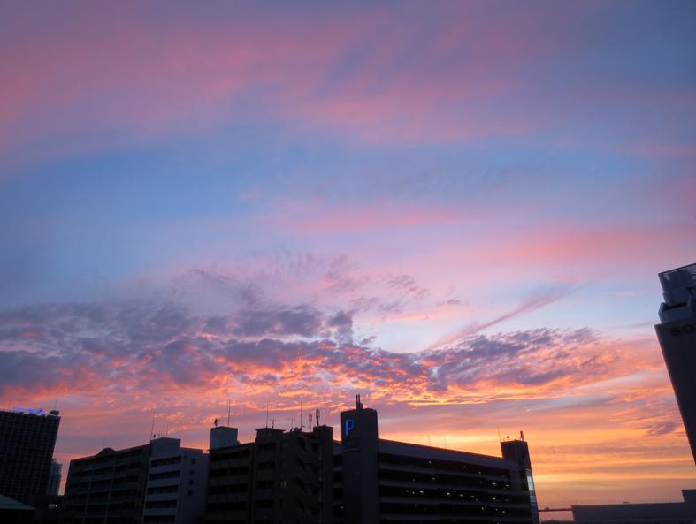 ■雲の変幻──週替わりの夕暮れ[6/28-7/1]_d0190217_22352686.jpg