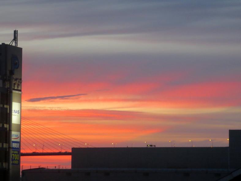 ■雲の変幻──週替わりの夕暮れ[6/28-7/1]_d0190217_22360459.jpg