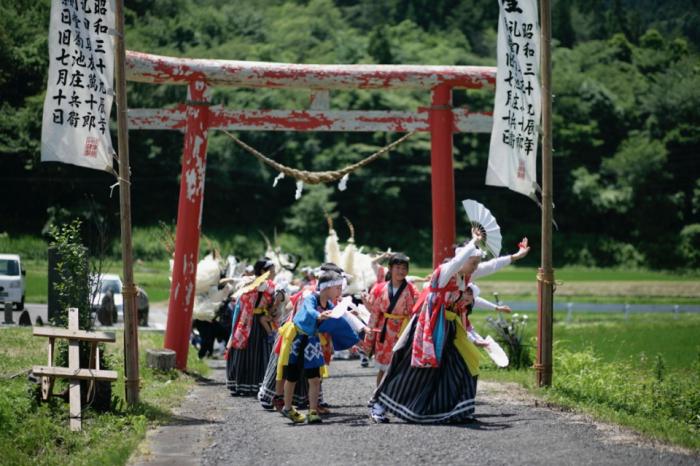 1341 小友町山谷観音まつり(1) : 四季彩空間遠野(第二期)
