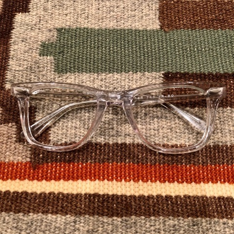 "1950-60s "" VICTORY optical \"" - VINTAGE - wellington CLEAR CELL FRAME - mintconditions - ._d0172088_22150077.jpg"