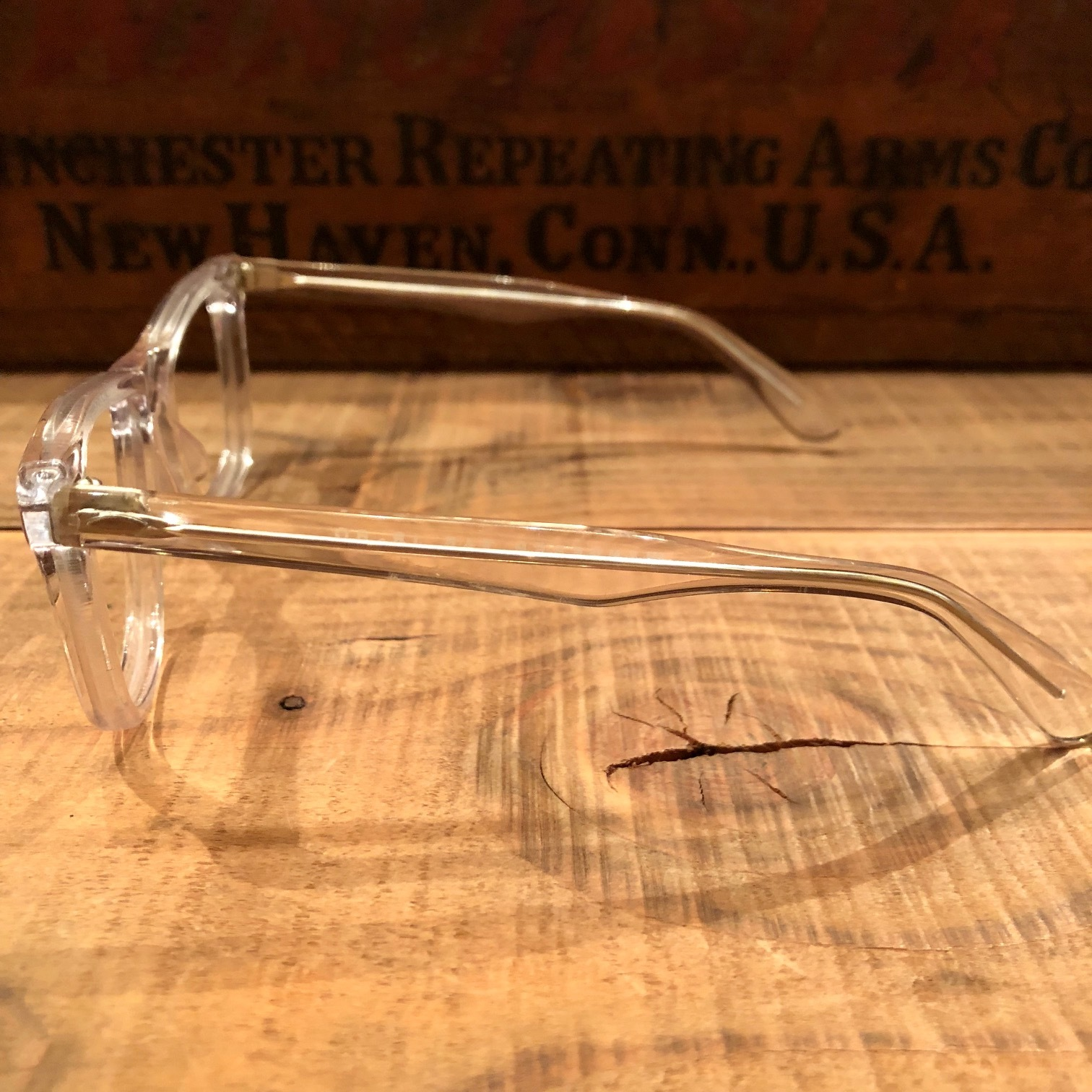 "1950-60s "" VICTORY optical \"" - VINTAGE - wellington CLEAR CELL FRAME - mintconditions - ._d0172088_22171664.jpg"