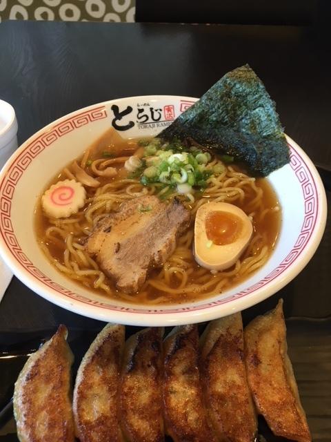 東京ラーメンと餃子ー今週の日本食_e0350971_00180228.jpg