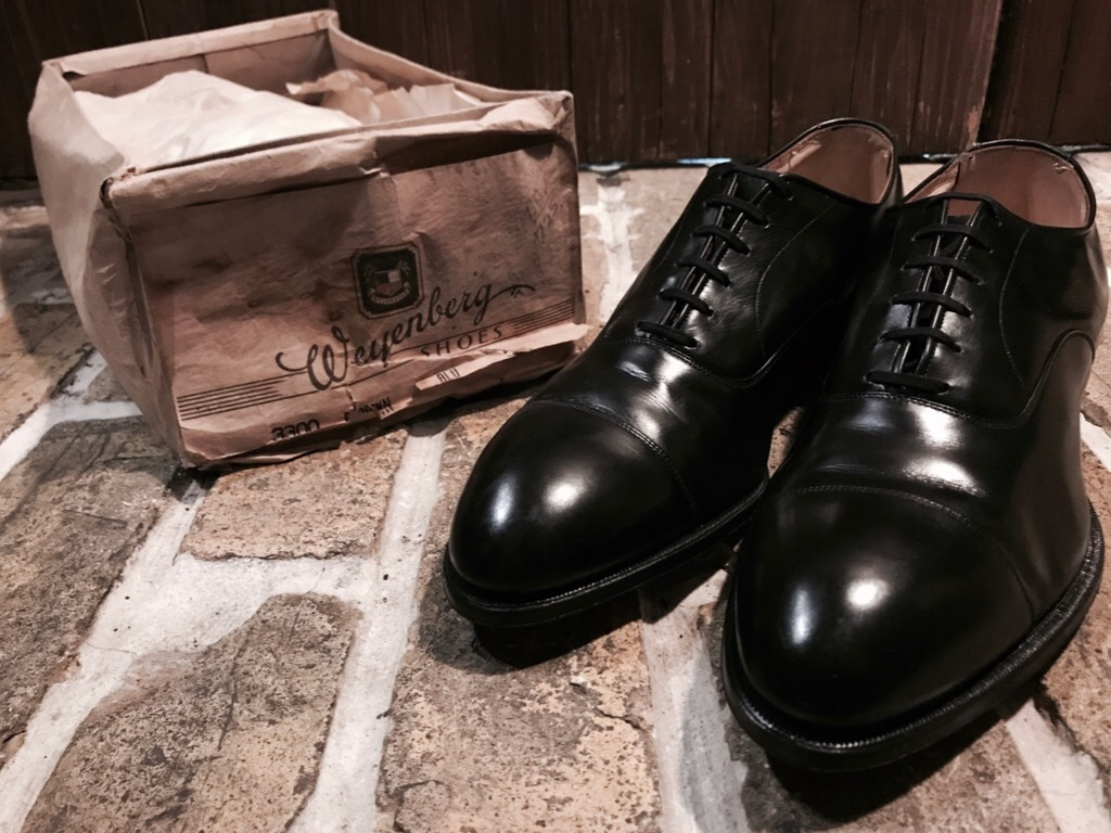 神戸店7/4(水)Vintage&Superior入荷! #6 Vintage Leather Shoes!!!_c0078587_18403804.jpg
